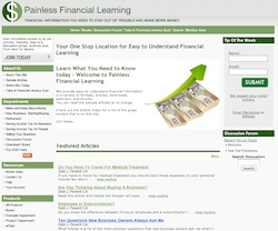 Painless Financial Learning